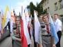 05.05.2016 Peregrynacja Symboli ŚDM w Gimnazjum w Ropie